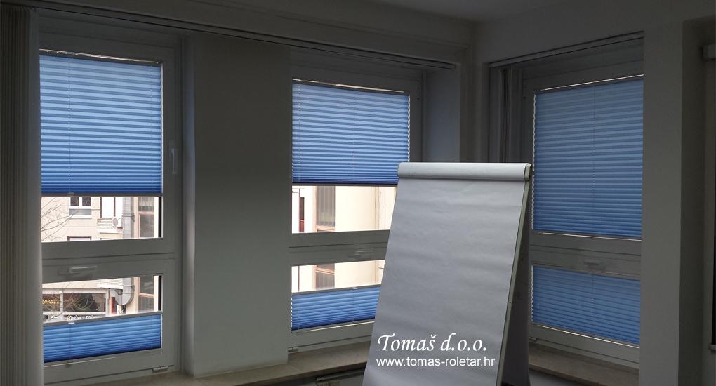 Plise (rebraste) zavjese